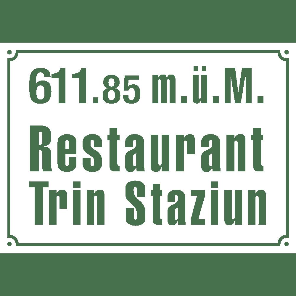 Trin Staziun Logo